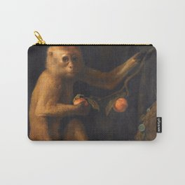 George Stubbs - A Monkey Carry-All Pouch