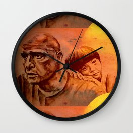 Marlon Brando as Colonel Kurtz Wall Clock