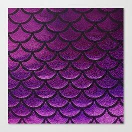 Boysenberry Scales Canvas Print