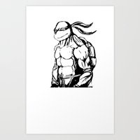 tmnt Art Prints featuring tmnt by CarlosG