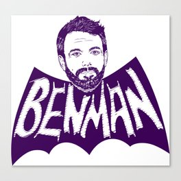 the Ben Man Canvas Print