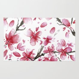 Cherry Blossoms #society6 #buyart Rug
