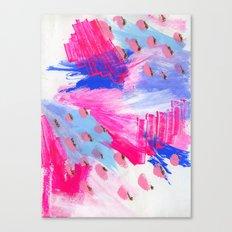 seattle sketch Canvas Print