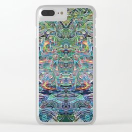 Mind Bender Clear iPhone Case