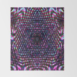 Abiguous Merkaba Throw Blanket