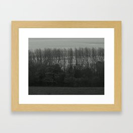 Rows Framed Art Print