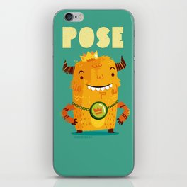 :::Pose Monster::: iPhone Skin