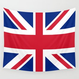 red white and blue trendy london fashion UK flag union jack Wall Tapestry