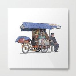 Rebusque_bici Metal Print