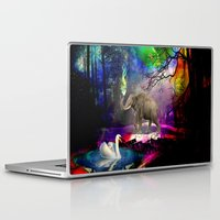 decal Laptop & iPad Skins featuring Fantasy forest by haroulita