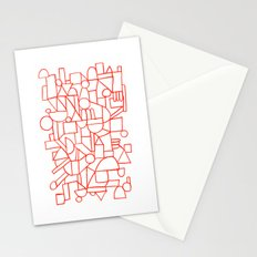 Rad lines Stationery Cards