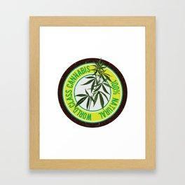 World Class Cannabis Framed Art Print