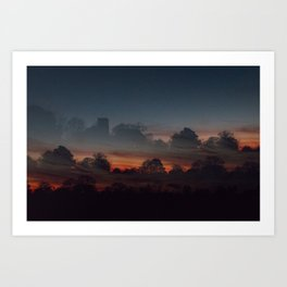 Castles In The Sky Art Print