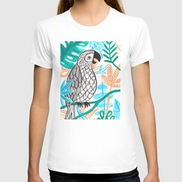 Parrot in the Jungle T-shirt