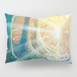 """""""Light Temple"""" by Adam France Pillow Sham"""