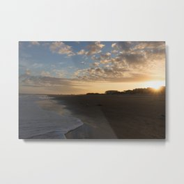 Tybee Island Sunset Metal Print