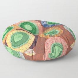 The Green Core Combines Floor Pillow