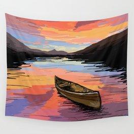 Canoe Wall Tapestry