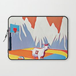 Goat in court Laptop Sleeve