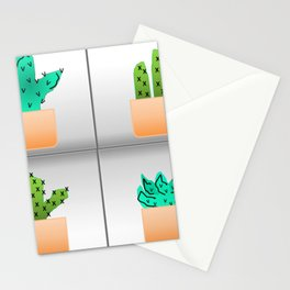 Prickly Pairs Stationery Cards