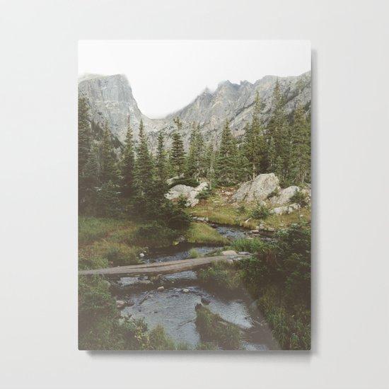 Dream Lake Creek Metal Print