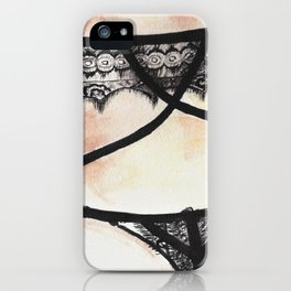 Lingerie2 iPhone Case