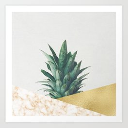 Pineapple Dip VII Art Print