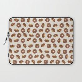 Chocolate Donuts on Cream Laptop Sleeve