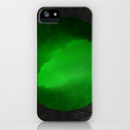 Neon Crevasse iPhone Case