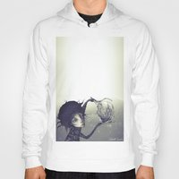 edward scissorhands Hoodies featuring Edward Scissorhands by Antonio Lorente