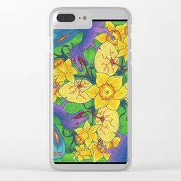 Dragondala Spring Clear iPhone Case