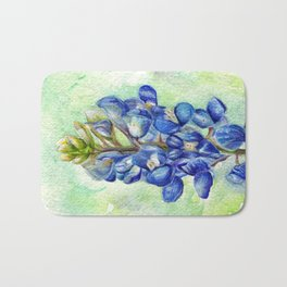 Texas Bluebonnets Bath Mat