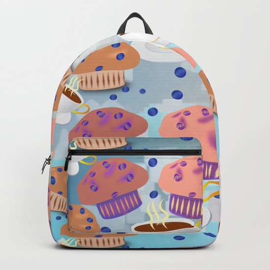 Muffins and Coffee Backpack