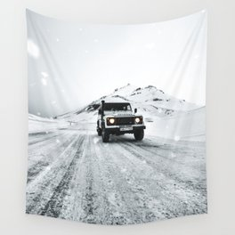 roadtrip in iceland Wall Tapestry