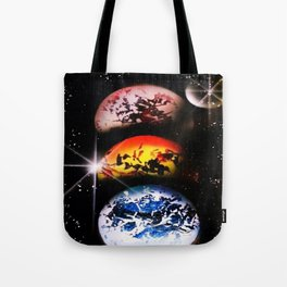 One World Over Tote Bag