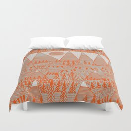 Evening on the High Pasture Duvet Cover