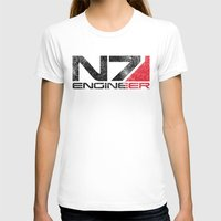 engineer T-shirts featuring Alt Engineer by Draygin82