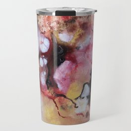 Abstract 1 by Saribelle Travel Mug