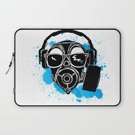 Dubstep gas mask Laptop Sleeve