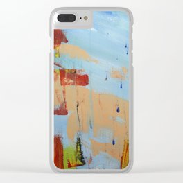 Another Level Of Spectrum Clear iPhone Case