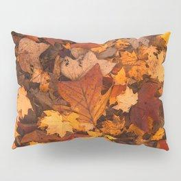 Autumn Fall Leaves Pillow Sham