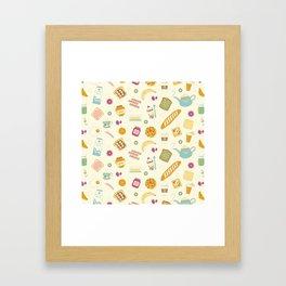 Who else loves breakfast? Framed Art Print