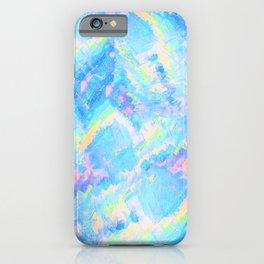 Blue Gemstone iPhone Case