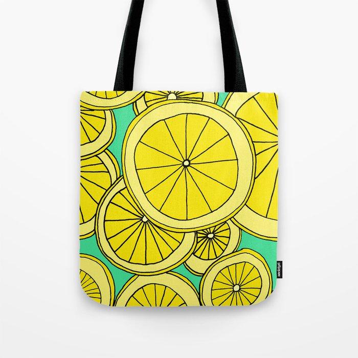 Lemons by Emma Freeman Designs Tote Bag