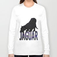 jaguar Long Sleeve T-shirts featuring Jaguar by Ben Geiger