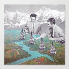 Architectes Canvas Print