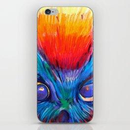 Crazy Owl  iPhone Skin