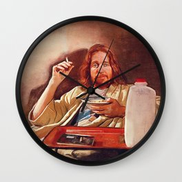 The Dude (pulp fiction) Wall Clock