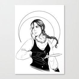 The Wraith Canvas Print