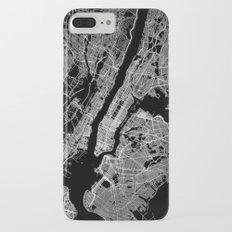 New York map Slim Case iPhone 7 Plus
